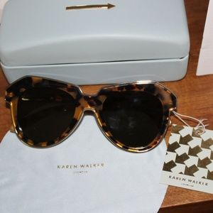 Karen Walker One Astronaut Sunglasses - NWT